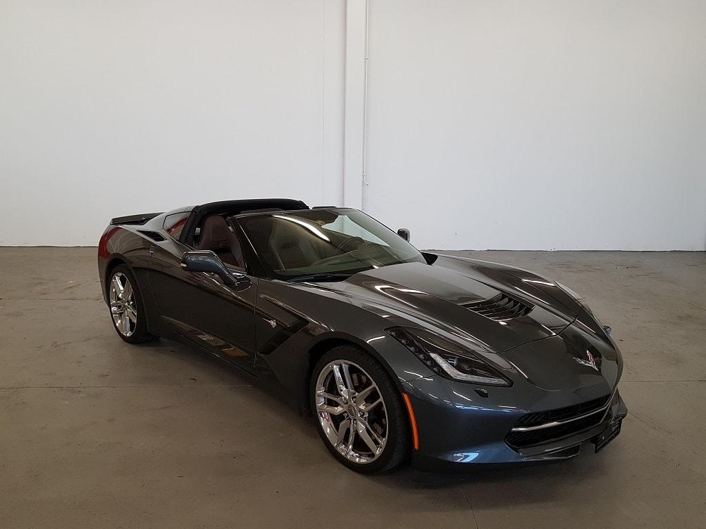 Corvette Frontansicht 2