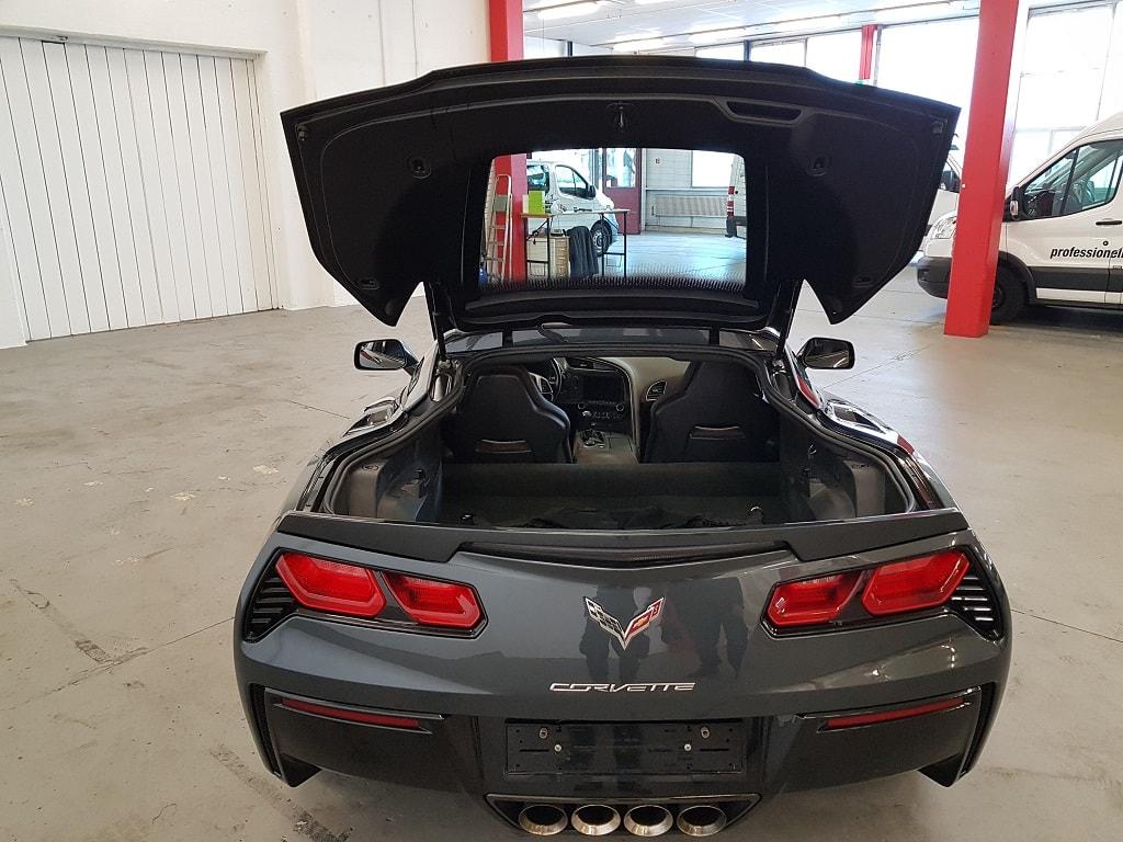 Corvette Kofferraum ohne Dach