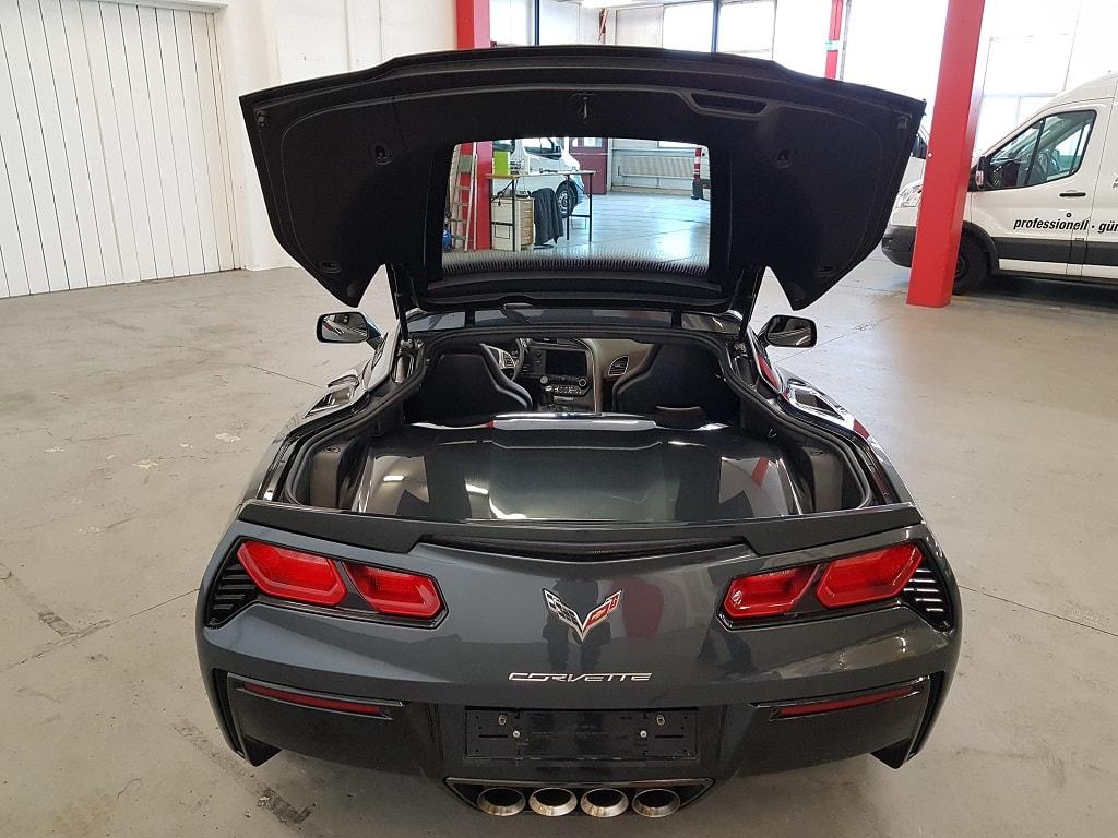 Corvette Kofferraum mit Dach