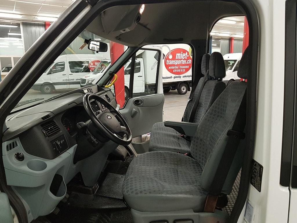 Ford Transit 14 Plaetzer Fahrerkabine