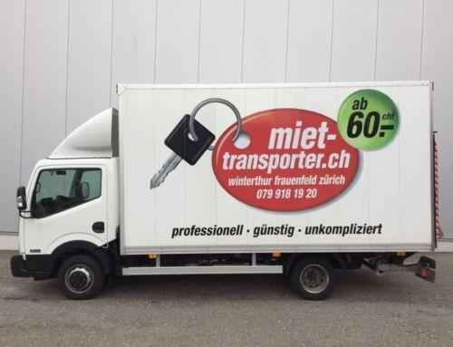 Transporter / Lieferwagen mieten Winterthur
