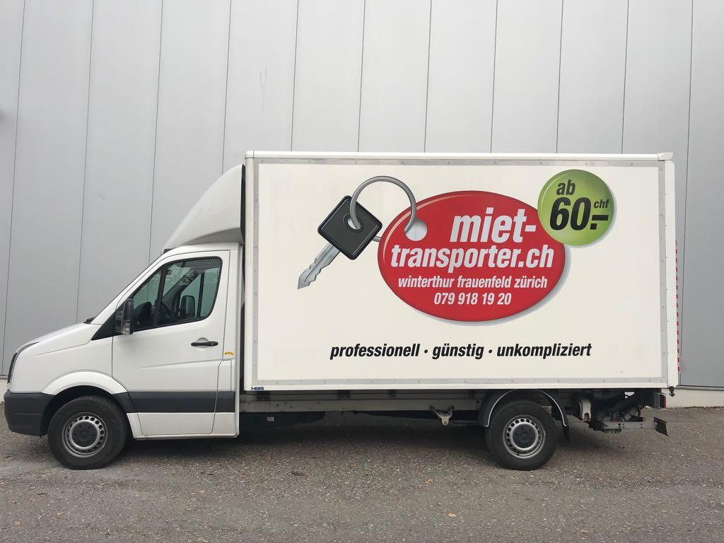Transporter Mieten In Zurich Autovermietung