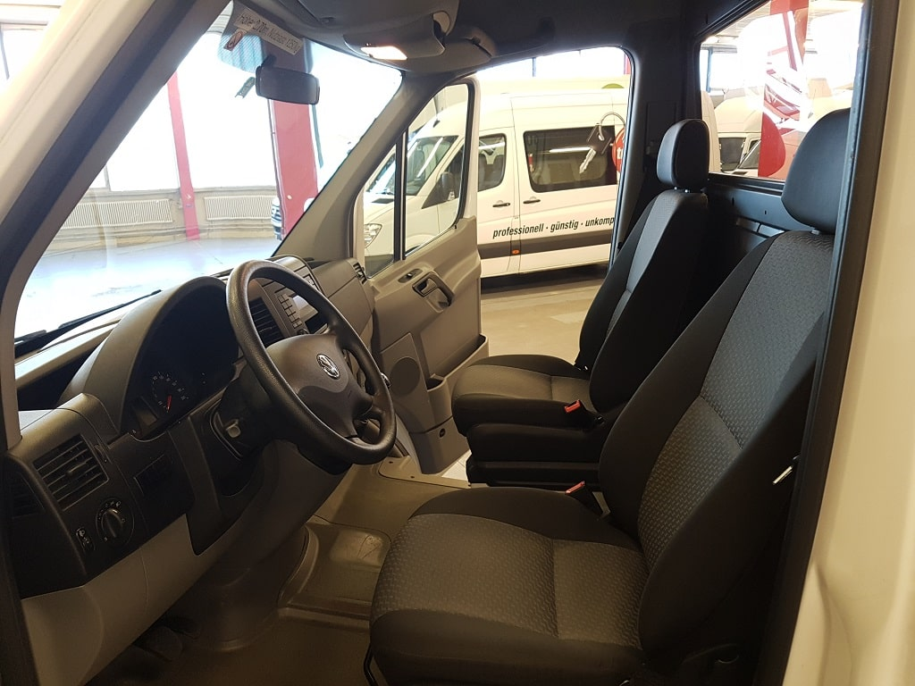VW Crafter Kastenwagen Fahrerkabine