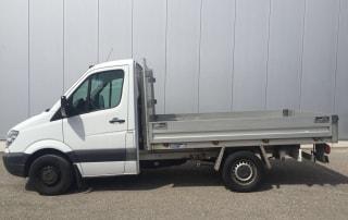 Mercedes Benz Brückenwagen als Pickup