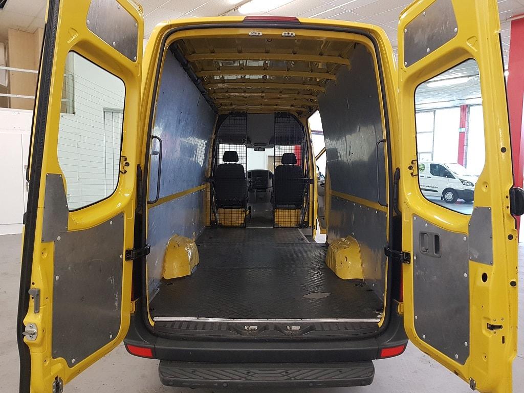 Mercedes Benz 313 langer Lieferwagen Ladeflaeche