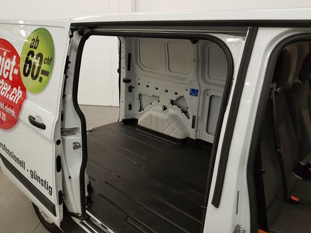 Ford Transit Custom Kleintransporter Laderaum seitlich