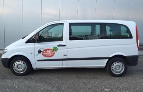 Mercedes Benz Vito als Kleintransporter oder Personenbus