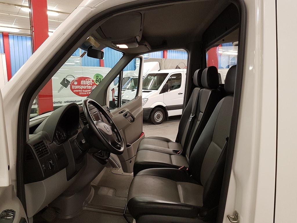VW Crafter Automat Fahrerkabine