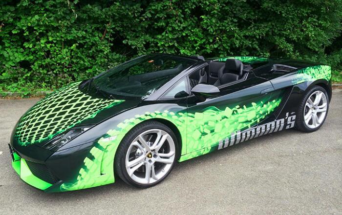 Sportwagen Lamborghini Gallardo Cabriolet für Sie zum Mieten.
