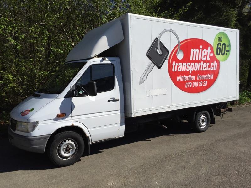 Transporter mieten in Zürich