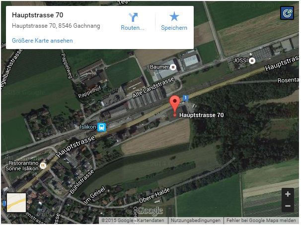 map Islikon