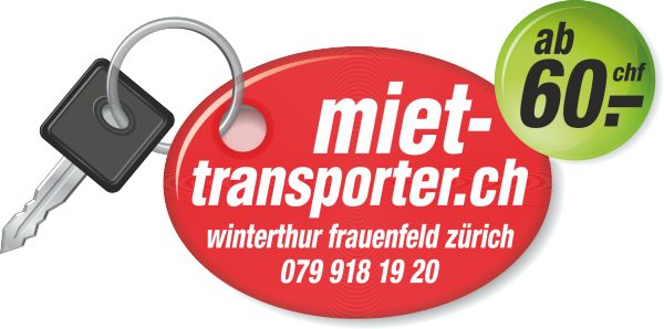 Autovermietung und Transporter-Vermietung in Frauenfeld Winterthur und Zürich