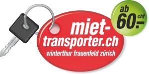 Autovermietung und Transporter-Vermietung in Frauenfeld Winterthur und Zürich Logo