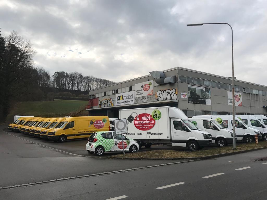 Transporter und Lieferwagen Vermietung in Islikon/Frauenfeld