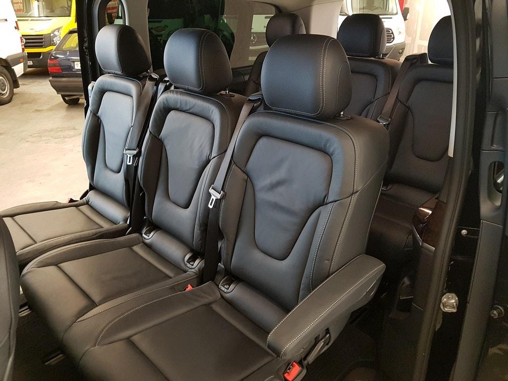 Mercdes V250 8 Plaetzer Sitze hinten
