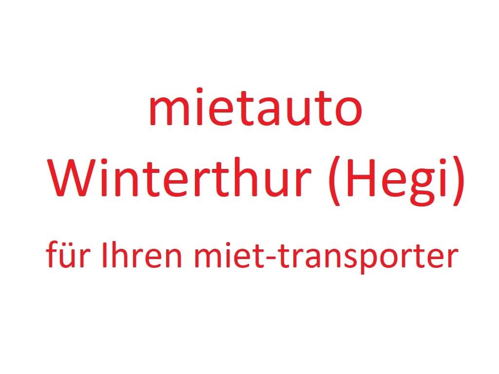 Mietauto Winterthur