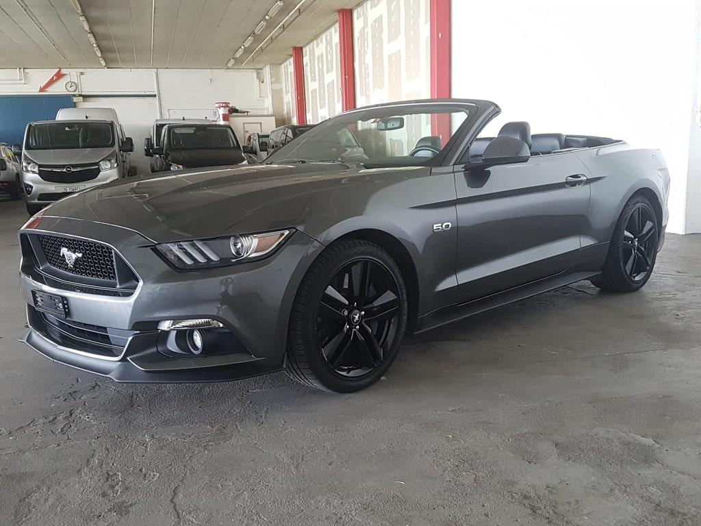Ford Mustang Cabriolet Seitenansicht