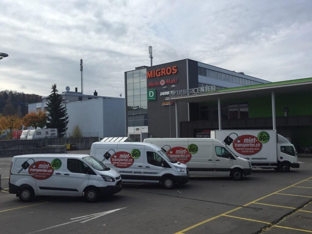 Transporter und Lieferwagen Vermietung in Winterthur
